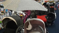 UNIVERSAL PARASOL FITS SILVER CROSS 3D PRAM SYSTEM ALL MODELS