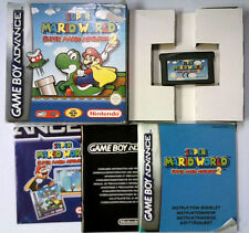 Super Mario Advance Super Mario World Nintendo Gameboy Advance GBA Boxed (gr)