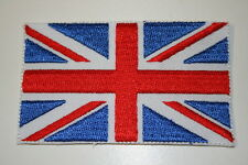 Union Jack UK Embroidered Heat Sealed Patch P007