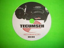 Tecumseh Carburetor Identification, Troubleshooting & Service Service Manual