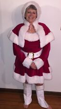Adult Mrs Claus Christmas Costume Miss Santa Suit - Sexy Santa Assistant