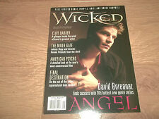 WICKED MAGAZINE - SPRING 2000 - ANGEL AMERICAN PSYCHO FINAL DESTINATION