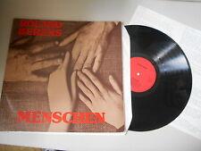 LP Blues Roland Berens - Menschen (9 Song) MUSIK PRODUKTIV / Insert / Signiert