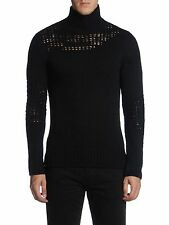 DIESEL BLACK GOLD KI-ARTURO BLACK JUMPER SIZE M 100% AUTHENTIC