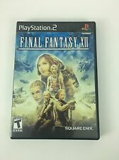 EXCELLENT Final Fantasy XII - PS2 Playstation 2 Game TESTED