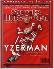 2006 STEVE YZERMAN Commemorative Edition Sports Illustrated - Detroit Red Wings