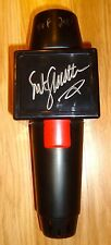 RARE WWE RAW HOF 2004 SGT SARGENT SLAUGHTER SIGNED AUTO MICROPHONE & PHOTO