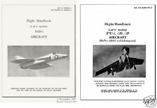 1950's Vought F7U Cutlass & Douglas F4D (F-6) Skyray Manuals historic archive