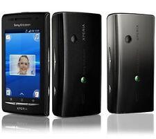 Smartphone Sony-Ericsson XPERIA X8 E15i Black Grey - Android - WLAN - GPS -- NEU
