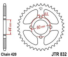 Couronne transmission arrière Yamaha TY 50 M 50 78-81