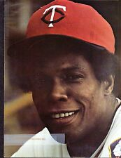 Rod Carew  TWINS  8-3/8 x 11  UNSIGNED ORIGINAL COLOR YEARBOOK  PHOTO #10