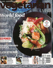 NEW! VEGETARIAN LIVING UK October 2013 World Food 45 Recipes 27 Dairy Free cPIC