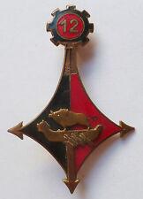 Insigne Sahara 12° Régiment du Génie SanglierORIGINAL Drago OM  abimé !!!