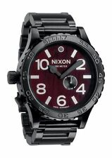 Nixon 51-30 Tide in Dark Wood/Black Watch A057-1107 Brand New In Box MSRP$500
