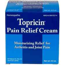 Topricin Pain Relief Cream 4 oz