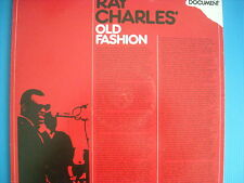LP RAY CHARLES OLD FASHION NUOVISSIMO K. TEL DOCUMENT 1980 LOOK