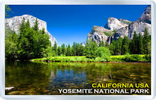 YOSEMITE NATIONAL PARK CALIFORNIA USA MOD 3 FRIDGE MAGNET SOUVENIR IMAN NEVERA