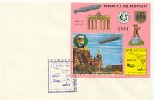 "PARAGUAY 1977 Internationale Luftpostausstellung ""LUPOSTA 77"", Berlin ZWEI FDC's"