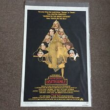 Death On The Nile Original 1978 Movie Poster Art by Richard Amsel