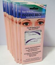 ~BRAND NEW!~10 PACKAGES~FRAN WILSON INSTANT BROWS~STYLE ROUND BROW~