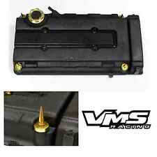 VMS GOLD ENGINE DRESS UP KIT B16 B18 VALVE COVER INSERT WASHER SEAL SPIKE NUT