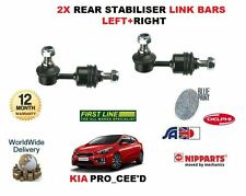Para Kia Pro Ceed 1.4 1.6 1.6 TD 2012 - > Nuevo 2 X Trasero Estabilizador enlace Bares