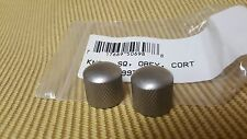 006-9979-000 Squier by Fender Satin Chrome Obey Relic Press-on Guitar Knobs