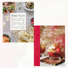 Pippa Kendrick 2 Books Collection Set The Intolerant Gourmet,Free-From Food NEW