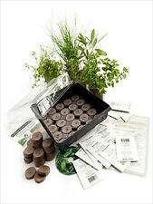 INDOOR COOKING / CULINARY HERB GARDEN GROWING KIT- GARDENING GIFT - GROW SPICES