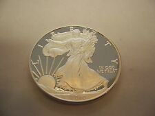 2010 Silver Eagle Proof Coin (Excellent)