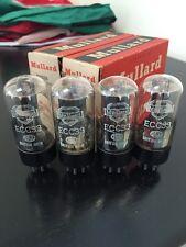 ECC33 VINTAGE MULLARD NOS BOXED QUAD VALVE/TUBE (LC32)