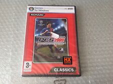 Vintage Pes 2009 Pc Dvd Games For Windows Konami#Halifax Factory Sealed