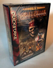 Quickstrike Pirates of the Caribbean Trading Cards 2 Player Starter Set - New