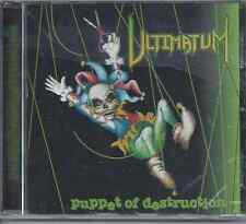 ULTIMATUM - PUPPET OF DESTRUCTION CD ORIGINAL 1998 ROWE PRODUCTIONS (NEW-SEALED)