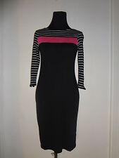 Lauren Ralph Lauren Multi Color 100% Cotton Pullover Dress-Zip Sleeve Ends Small
