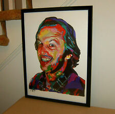 Jack Nicholson, The Shining, One Flew Over the Cuckoo's Nest, 18x24 POSTER w/COA