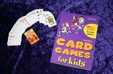 CARD GAMES SET teach your children kids OLD FASHIONED  stocking filler Xmas