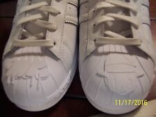 NEW Adidas Originals Superstar Pharrell Williams Equality Triple White size 13