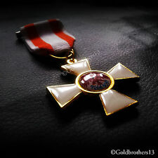 ORDER OF THE RED EAGLE 3RD CLASS KNIGHTS MILITARY MEDAL PRUSSIA WW1 REPLICA.