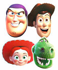 TOY STORY FACE MASK CHARACTERS FUN PARTY Decorations Buzz Woody Jessie Rex Masks