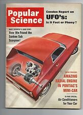 Popular Science April 1969 Air Conditioners for your Car Good Condition