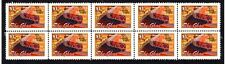 THE GHAN GREAT AUST RAILWAYS STRIP OF 10 MINT STAMPS 4