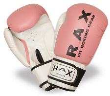 R A X Boxing Gloves Punching Bag Sparring Training Mitts MMA Muay Thai Grappling