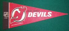 NEW JERSEY DEVILS NHL MINI PENNANT, NEW & MADE IN USA