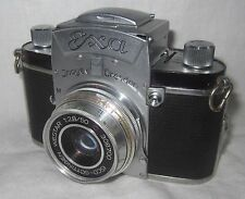 Vintage Ihagee Exa 35mm Film Camera w/Isco Gottingen Westar 1:2.5/50mm Lens