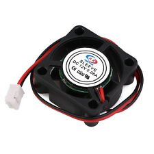 Mini Cooling Fan 2Pin Brushless DC 12V  Cooler Fan 25MM 2510s 25x25x10mm