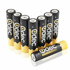 Odec AAA Rechargeable Batteries - 8 Pack Ni-MH 1000mAh Deep Cycle 1.2V Battery