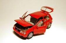 Volkswagen VW Polo Typ 6N 5Türer in rot rouge rosso roja red, Schabak in 1:43!