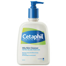 Cetaphil Oily Skin Cleanser 500ml - For Oily, Combination Or Blemished skin