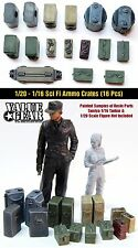 1/20 Scale Sci Fi Resin Ammo Cans - Value Gear - 16 Pieces - 90mm Ma.k SF3D